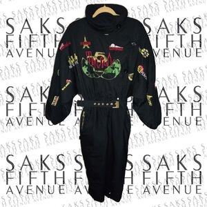 SAKS 5th Avenue 90's Luxury Women's Ski Jumpsuit